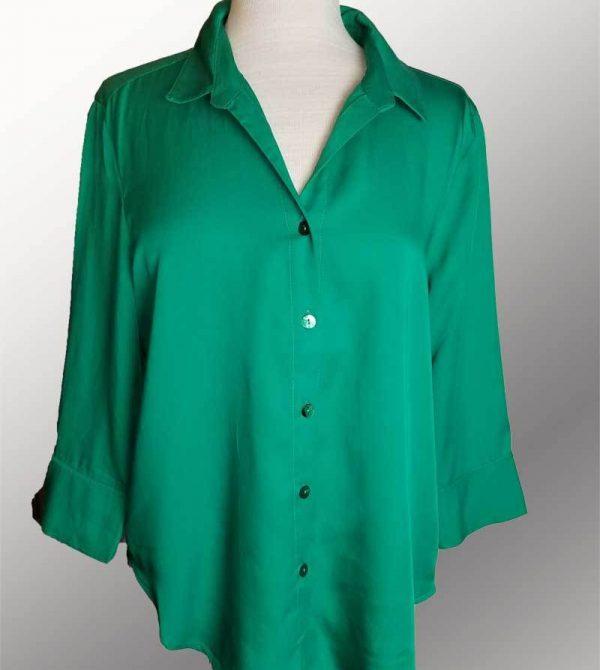 Tencel Classic Shirt – 3/4 Cuff Sleeve
