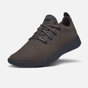 Men's Wool Runners – Cocoa (Dark Navy Sole)