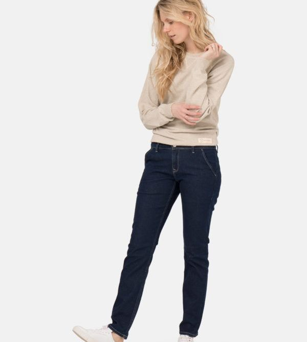 Organic Jeans | Claire Chino – Strong Blue | MUD Jeans