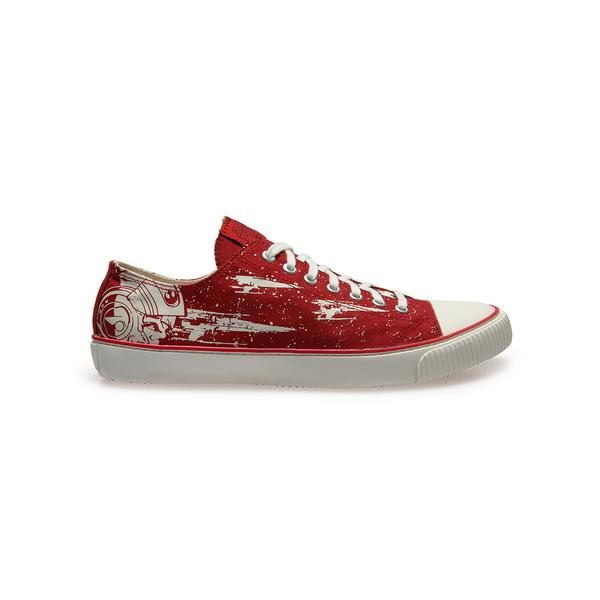 Official Star Wars Men's X-Wing Sneakers – Red