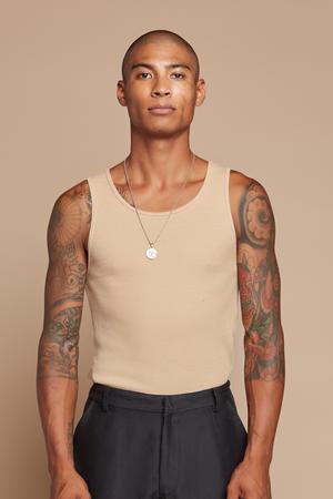 Hemp/Cotton Waffle Undershirt