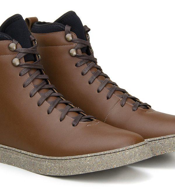 Weekend Sneaker High-Top, Brown