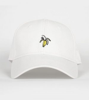Dedicated – Banana Organic Cotton Sport Cap l White