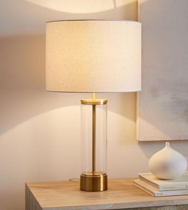 Acrylic Column USB Table Lamp