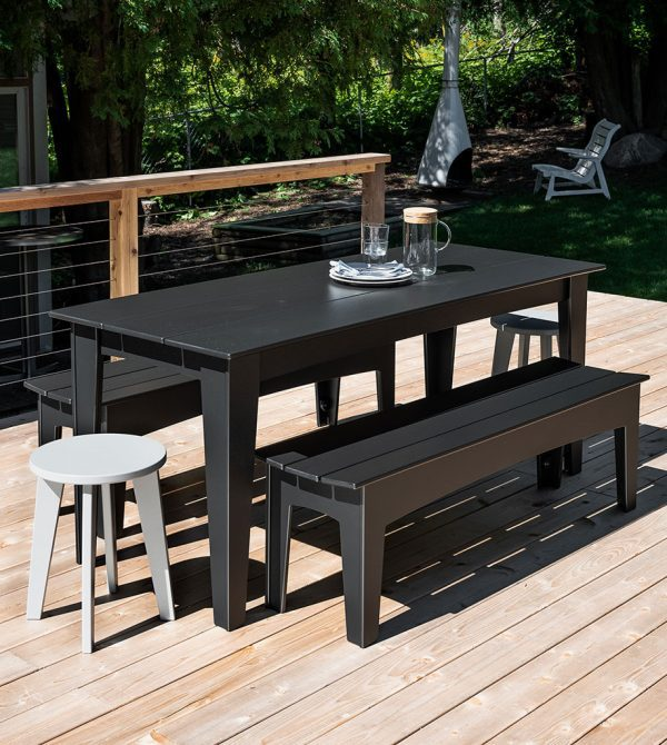 72″ Contemporary Outdoor Dining Table