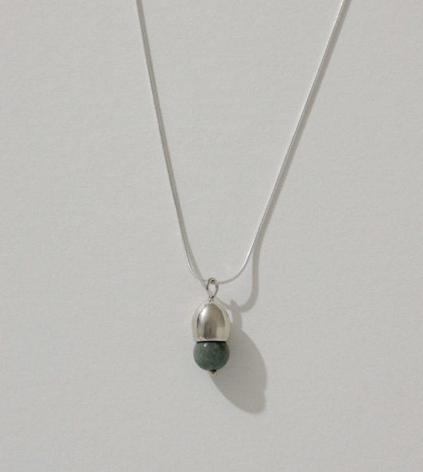 Ama Drop Necklace—Jade
