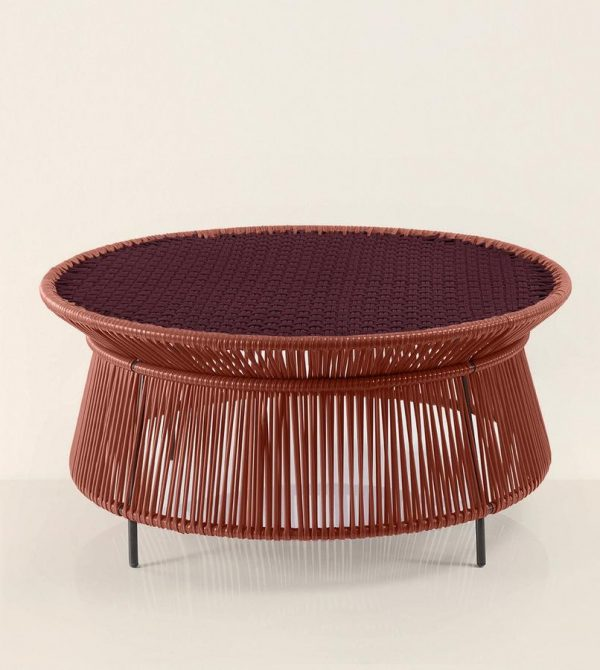 Caribe Low Table (Violet & Copper)