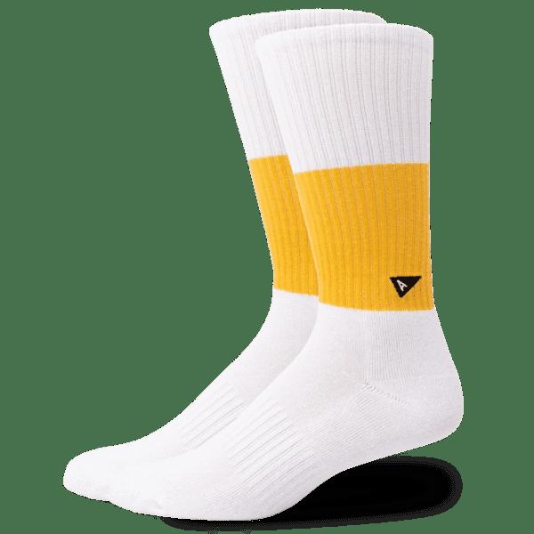 Crew Sock – Long – BLOCK STRIPE NEW!