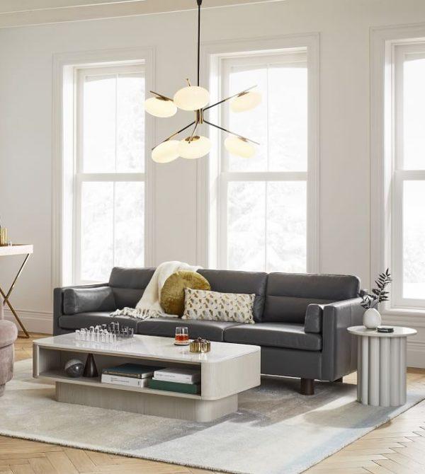 Aston Leather Sofa