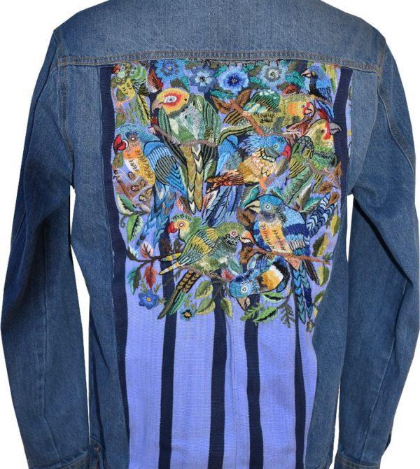 Huipil Denim Jacket