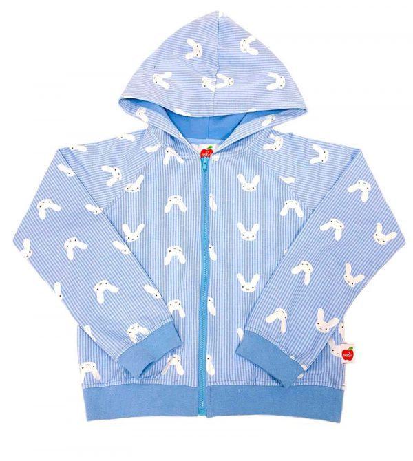 Hoppy Unisex Bunny Hoodie Jacket