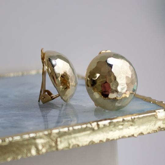Dome Clip Earring