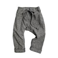 Charcoal Chambray Pants