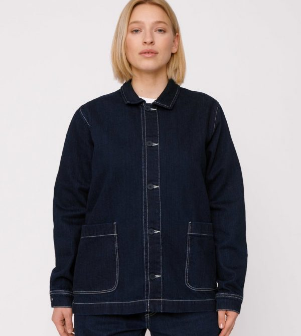 Circular Denim Jacket