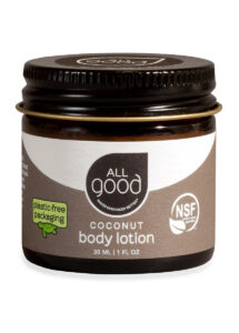 Plastic Free 1oz Coconut Lotion – All Good Products