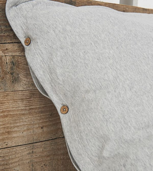 Pillowcase in premium and soft Jersey in organic cotton ⎪Kalani-home