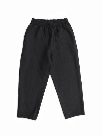 COURT PANTS, BLACK