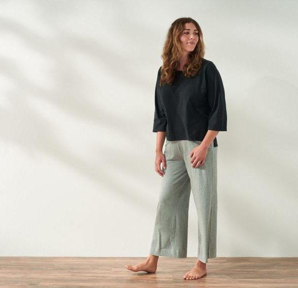 Solstice Wide Leg Crop Pants
