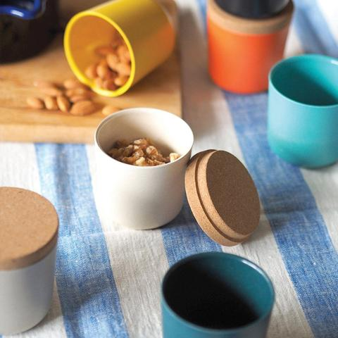 Recycled Bamboo Claro Large Storage Jar Set