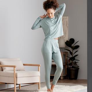Eucalyptus Long Sleeve Top – Sage