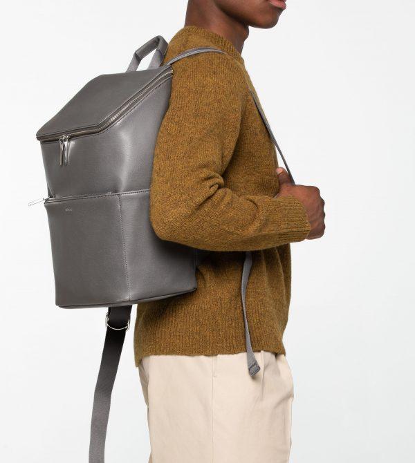 DEAN Vegan Backpack – Shadow | Matt & Nat