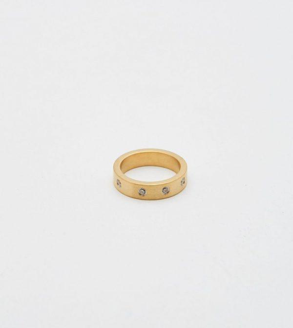 Gemma Diamond Ring by Bagatiba