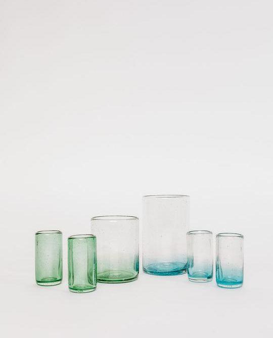 Xela Emerald Glass Set