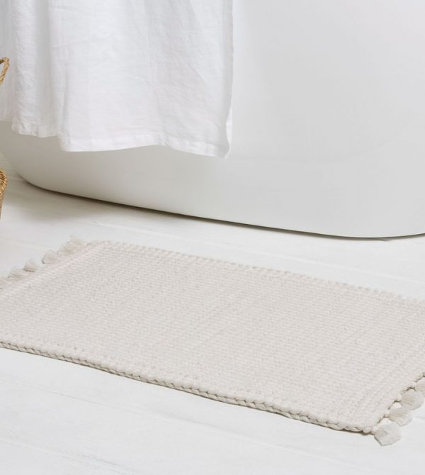 Hand-Knit Rug