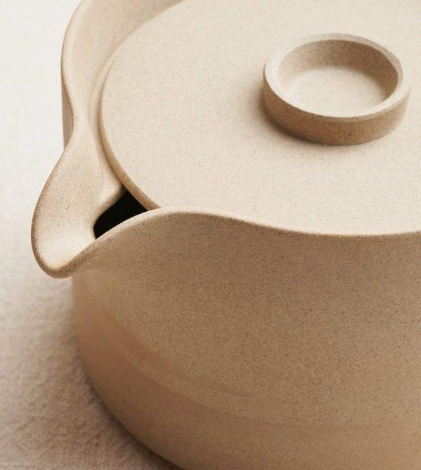 Coffee Dripper & Teapot in Unglazed Porcelain