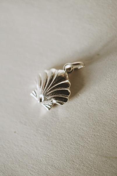 Shell Charm Pendant *made-to-order