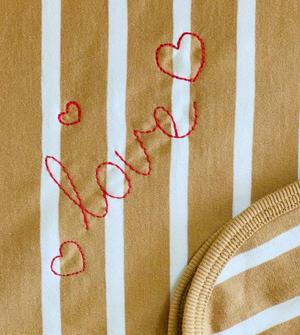 The Olen Stripe Blanket (Fawn)