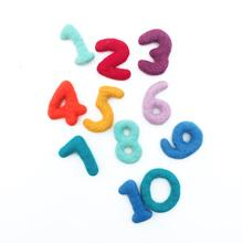 Felt Number Set (11 pcs)