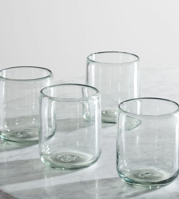 Recycled Mexican Glassware
