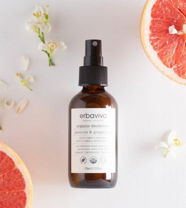 Jasmine & Grapefruit Organic Deodorant