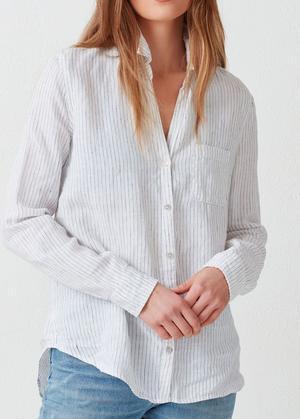 Kennedy Linen Button Down