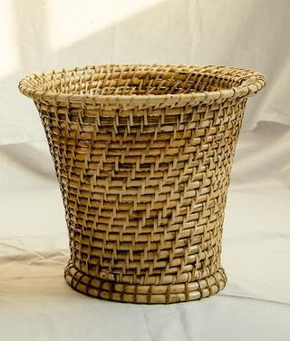 Lacing Flower Tub Basket