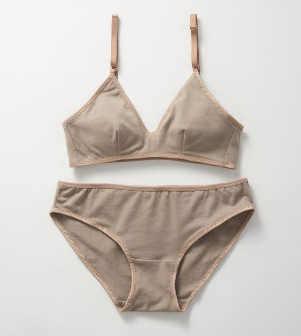 Latte Organic Lingerie Set – Organic Lingerie :: Brook There
