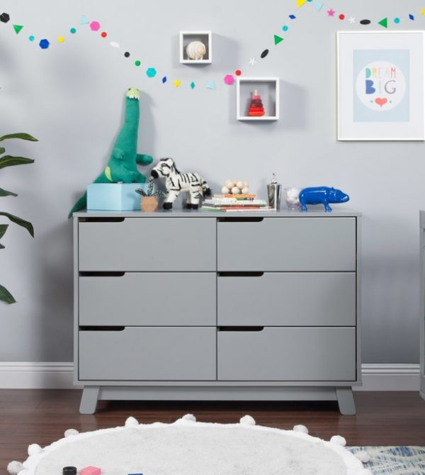 Hudson 6-Drawer Assembled Double Dresser