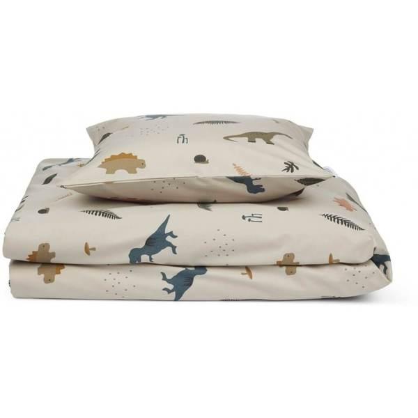 Liewood Bed Linen (Dino Dark Sandy Mix)