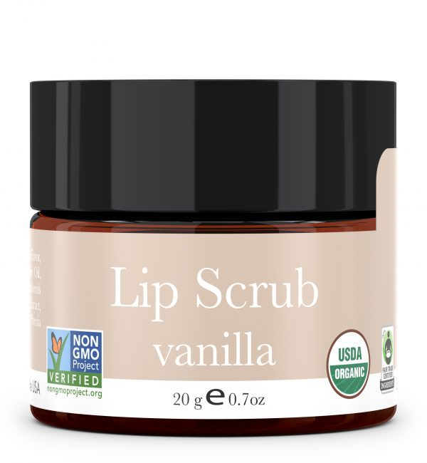Organic Vanilla Lip Scrub – Organic and Natural Skin Care – Beauty By Earth