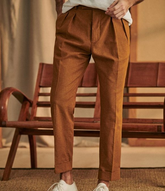 Young Trousers – Camel – Cotton