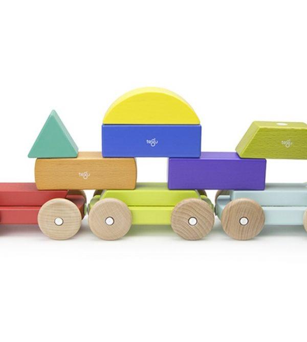 Magnetic Shape Train – Rainbow
