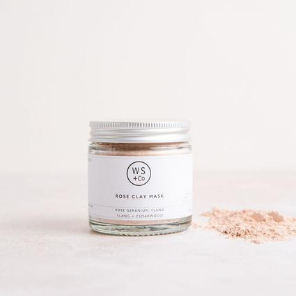 Green Clay Face Mask from Wild Sage + Co