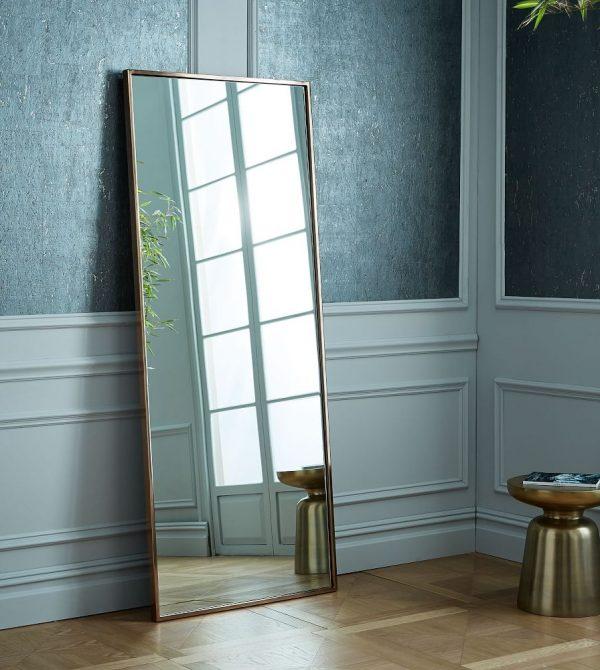 Metal Frame Floor Mirrors