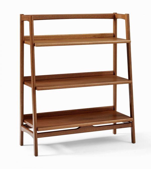 Mid-Century Low Shelf