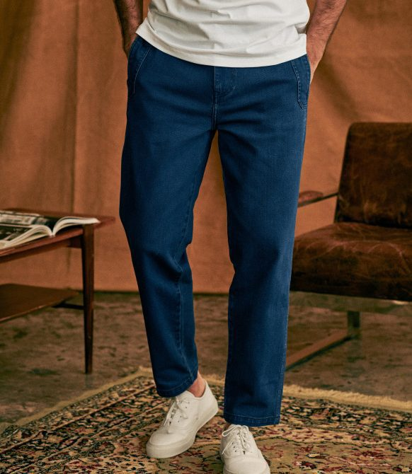 Will Trousers – Denim – Organic Cotton- octobre- editions