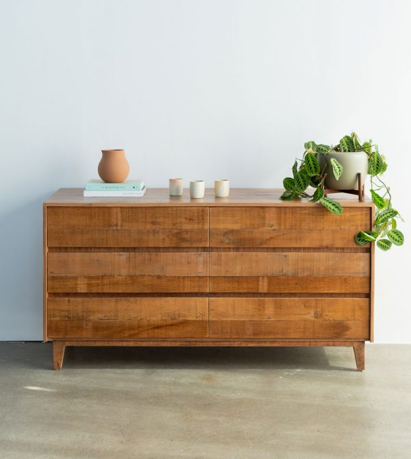 Natural Reclaimed Wood Dresser