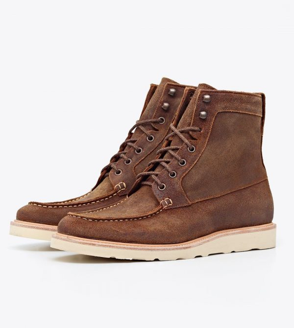 Nisolo Men's Mateo All Weather Boot Waxed Brown