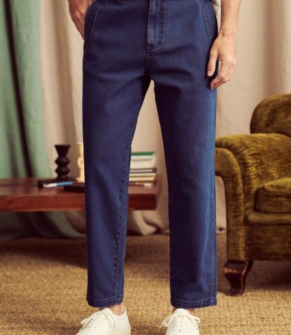 Will Trousers – Denim – Organic Cotton