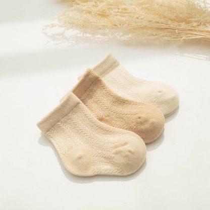 Organic Cotton Summer Basic Socks [Set of 3]6-12 Months / Basic